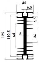 DISSIPADOR KP 1,25/300MM S/F.
