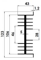 DISSIPADOR KP 1,4/120MM S/F.