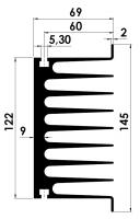 DISSIPADOR SP 0,25F/120MM S/F.